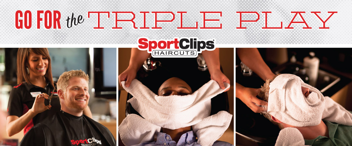 The Sport Clips Haircuts of Crossroads Plaza Triple Play