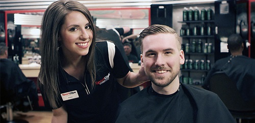 Sport Clips Haircuts of Crossroads Plaza​ stylist hair cut